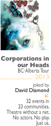 Corporations in Our Heads BC/Alberta Tour Thumbnail